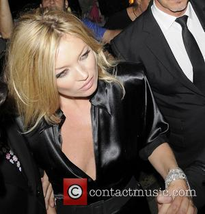 Kate Moss and Bond