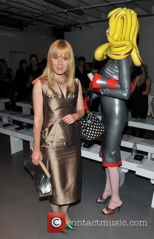 Roisin Murphy London Fashion Week Spring/Summer 2011 - Pam Hogg - Front Row London, England - 19.09.10