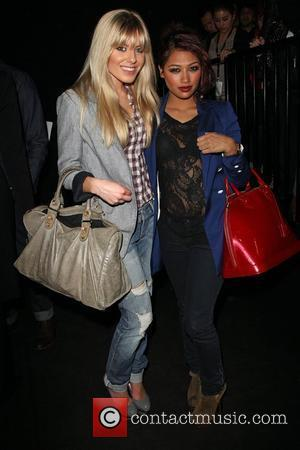 Mollie King and Vanessa White from The Saturdays