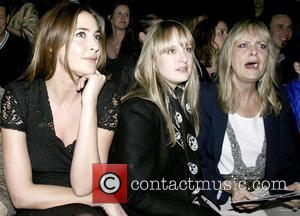 Lisa Snowdon, Carly Lawson and Twiggy