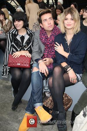 Lily Allen, Nick Grimshaw and Pixie Geldof