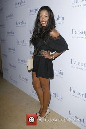 Golden Brooks Lia Sophia Previews 'The Lanaya II' Collection Cocktail Party held at the Sunset Tower Hotel West Hollywood, California...