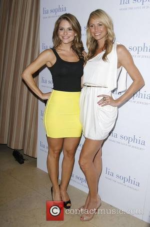 Maria Menounos and Stacy Keibler