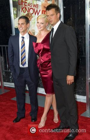 Greg Berlanti, Josh Duhamel and Katherine Heigl