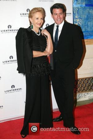 Carolina Herrera and Michael Bruno The kick-off dinner for the Lighthouse International's POSH Fashion sale held at the Oak Room....