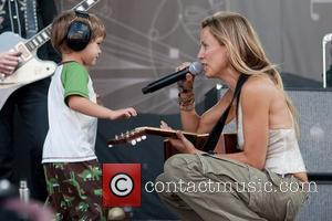 Sheryl Crow and Son Wyatt Steven Crow