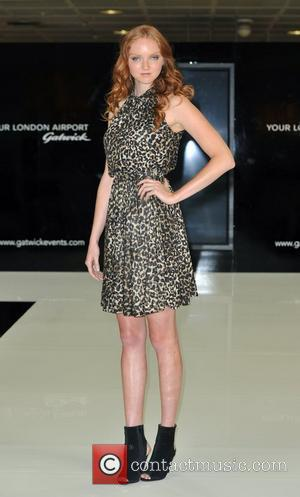 Lily Cole Gatwick Runway Models - photocall held at Gatwick Airport. London, England - 06.08.10