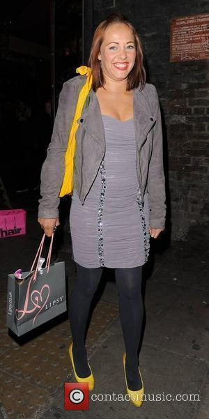 Sarah Cawood Pixie Lott For Lipsy - a/w 2010 party, held at Gilgamesh restaurant - Arrivals London, England - 28.09.10