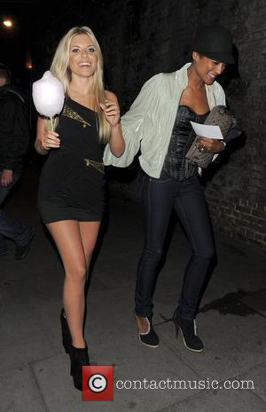 Mollie King and Pixie Lott