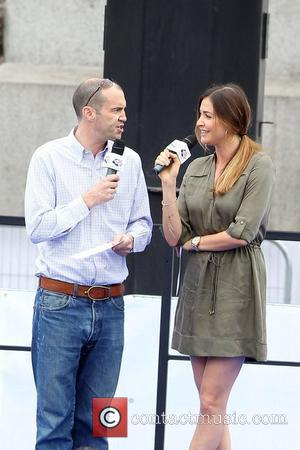 Lisa Snowdon and Johnny Vaughan