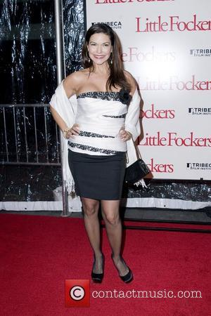 Laura Harring The World Premiere of 'Little Fockers' held at the Ziegfield Theatre - Arrivals New York City, USA -...