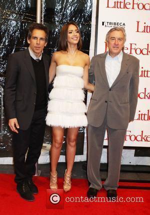 Ben Stiller, Jessica Alba and Robert De Niro