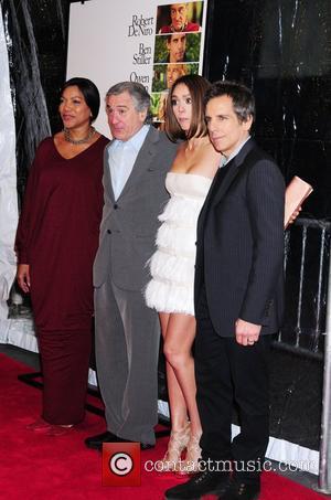 Grace Hightower, Ben Stiller, Jessica Alba and Robert De Niro