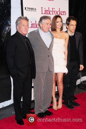 Robert De Niro, Ben Stiller and Jessica Alba