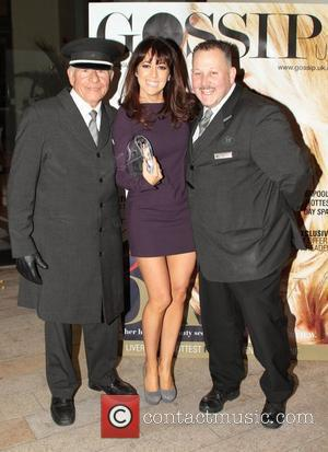 Sheree Murphy and hotel staff Juice FM Style Awards held at Liverpool Cathedral  Liverpool, England - 23.10.10