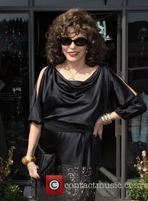 Joan Collins Lloyd Klein Couture Fall 2010 Presentaion - A Parisian Afternoon hosted by Joan Collins at the Lloyd Klein...