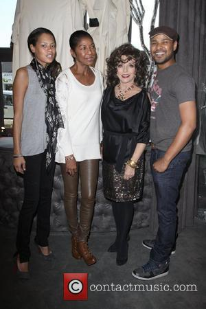 Keisha Whitaker, Natalie Cole, Joan Collins and Guest Lloyd Klein Couture Fall 2010 Presentaion - A Parisian Afternoon hosted by...