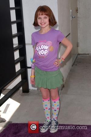 Joey King Lollipop Theatre 2nd Annual Game Day at Nickelodeon Animation Studio - Arrivals Burbank, California - 02.05.10