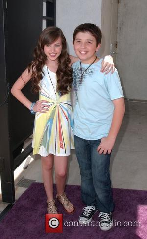 Ryan Newman and Bradley Steven Perry Lollipop Theatre 2nd Annual Game Day at Nickelodeon Animation Studio - Arrivals Burbank, California...