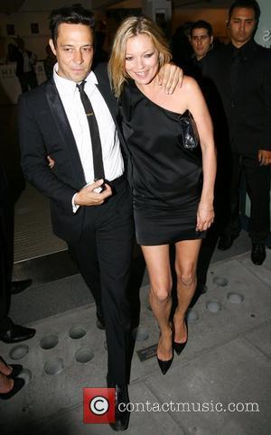 Jamie Hince, Kate Moss and Mario Testino