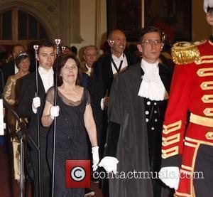 Guests and David Cameron