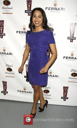 Monica Raymund  the 2010 Lucille Lortel Awards for Outstanding Achievement Off-Broadway held at Terminal 5.  New York City,...