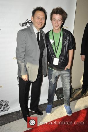 Michael Emerson and Sterling Beaumon Lost Finale Party at the Orpheum Theatre in Los Angeles CA - 23.05.10