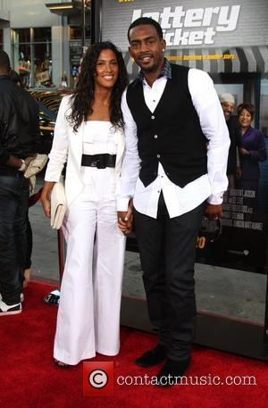 Bill Bellamy & Wife   The World Premiere of 'Lottery Ticket' held at Grauman's Chinese Theater Los Angeles, California...
