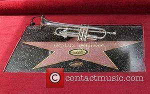 The newly unveiled Hollywood Walk of Fame star for his father