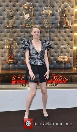 Romola Garai Louis Vuitton unveils the New Bond Street Maison. London, England - 25.05.10