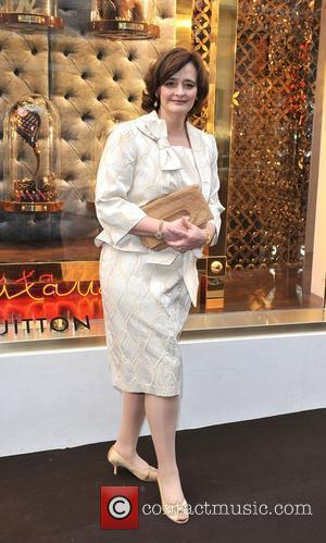 Cherie Blair Louis Vuitton unveils the New Bond Street Maison. London, England - 25.05.10