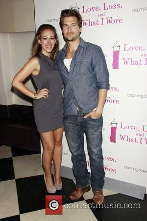 Haylie Duff and Nick Zano