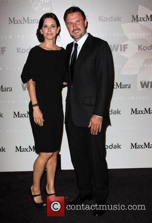 Courteney Cox and Husband David Arquette