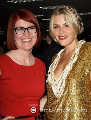 Kate Flannery and Busy Phillips