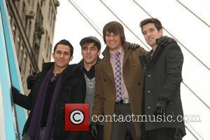 The cast of Big Time Rush 84th Macy's Thanksgiving Day Parade in New York City  New York, USA -...