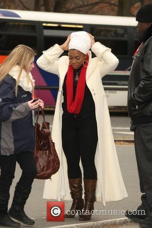 India Arie 84th Macy's Thanksgiving Day Parade in New York City  New York, USA - 25.11.10