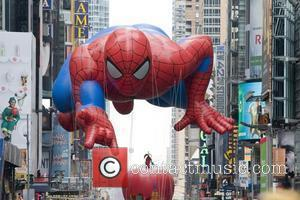 Spiderman balloon 84th Macy's Thanksgiving Day Parade in New York City New York, USA - 25.11.10