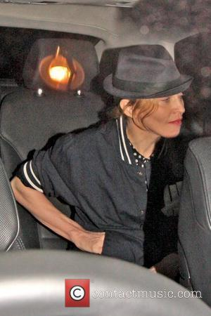Madonna leaving Aura nightclub at 2am wearing a fedora hat London, England - 24.07.10