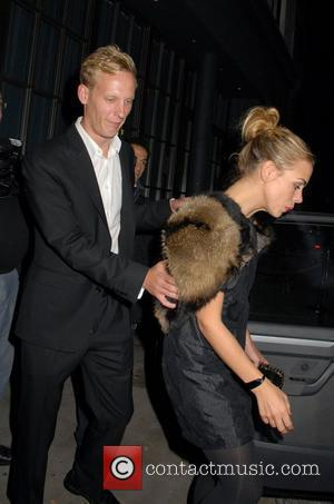 Billie Piper and Laurence Fox are seen leaving Shoreditch House in London's Trendy East End London, England - 14.08.10