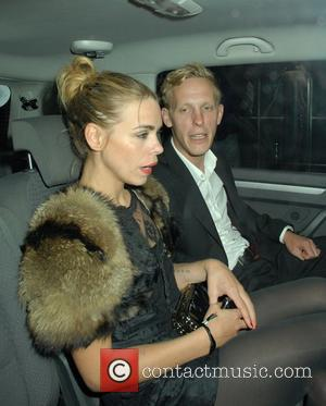 Billie Piper and Laurence Fox Are Seen Leaving Shoreditch House In London's Trendy East End