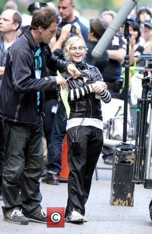 Madonna & Lourdes Officially Launch Clothing Line In New York
