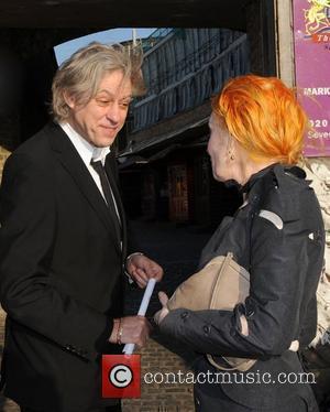 Bob Geldof and Dame Vivienne Westwood