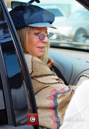 Barbra Streisand  Celebrities attend a party at a house in Mailbu on the Pacific Coast highway Malibu, USA -...