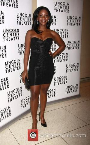 Teyonah Parris Opening night after party for the Lincoln Center Theater Broadway production of 'A Free Man of Color' held...