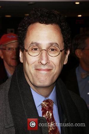 Tony Kushner Opening night of the Lincoln Center Theater Broadway production of 'A Free Man of Color' at the Vivian...