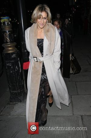 Emily Maitlis,  at the launch of CNN's 'Piers Morgan Tonight' at the Mandarin Oriental hotel. - Outside Arrivals London,...