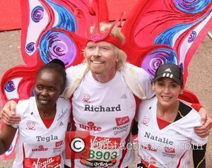 Natalie Imbruglia and Richard Branson