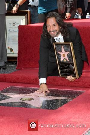 Marco Antonio Solis Mexican composer and record producer is honoured with the 2,415th star on the Hollywood Walk of Fame...