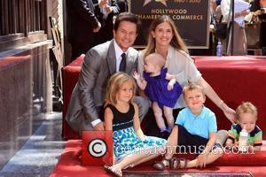 Mark Wahlberg, Rhea Durham, Children Ella, Grace, Michael and Brendan