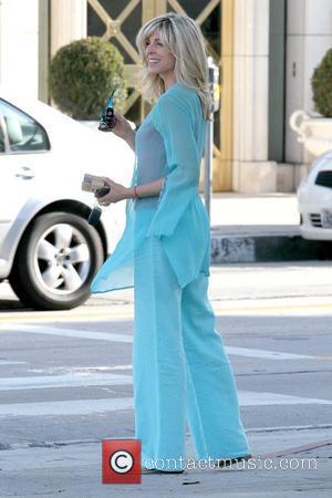Marla Maples in good spirits leaving Le Pain Quotidien in West Hollywood Los Angeles, California - 02.06.10